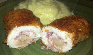 HFM's Chicken Cordon Bleu- The Best Damn Schnitzel in Town