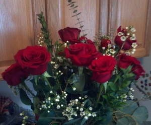 Of course a dozen roses doesn't hurt how the evening progresses either.  :-)