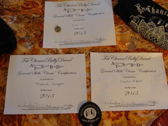 Trio Certificates