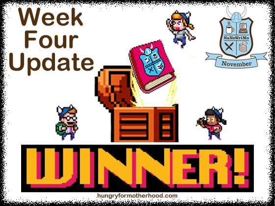 NaNoWriMo-2013-Week-Four