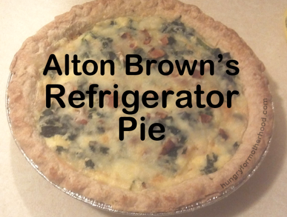 Alton Brown Refrigerator Pie