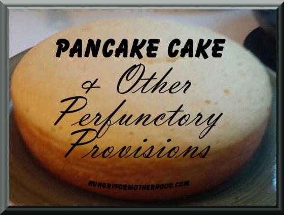 Pancake-Cake-Provisons