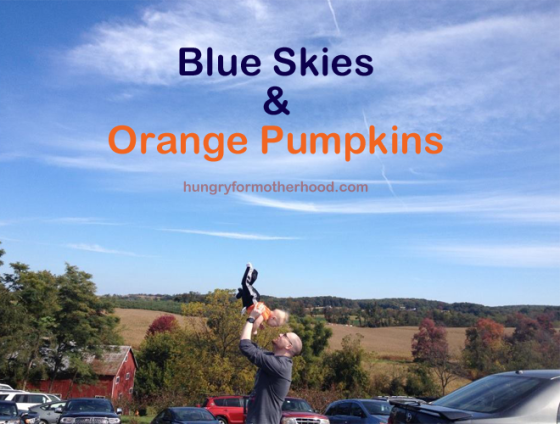 Blue-Skies-and-Orange-Pumpk