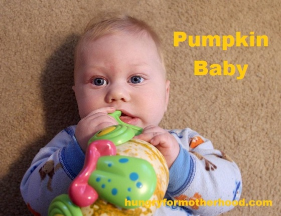 Pumpkin baby title