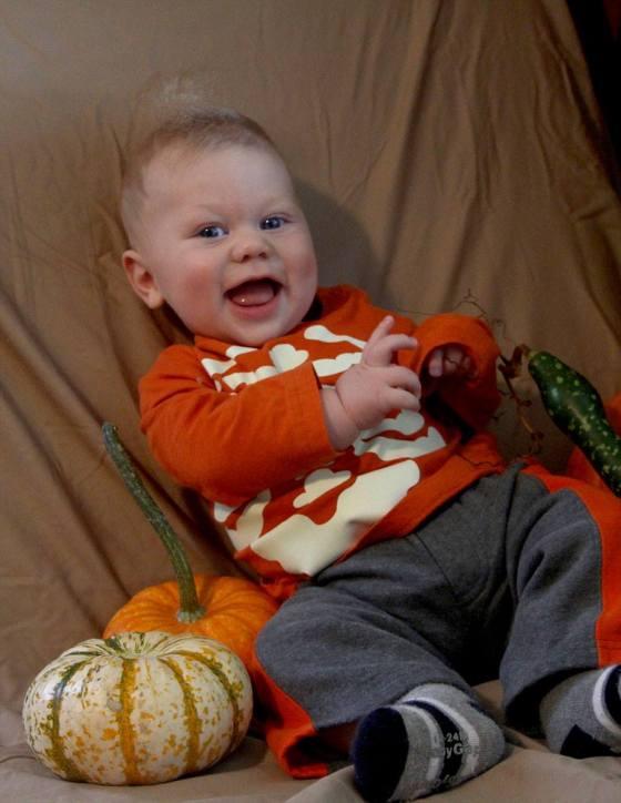 Pumpkin baby
